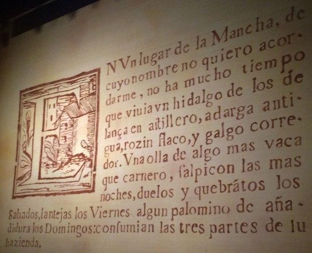 Cervantes: El ingenioso hidalgo Don Quijote de la Mancha, Capítulo Primero