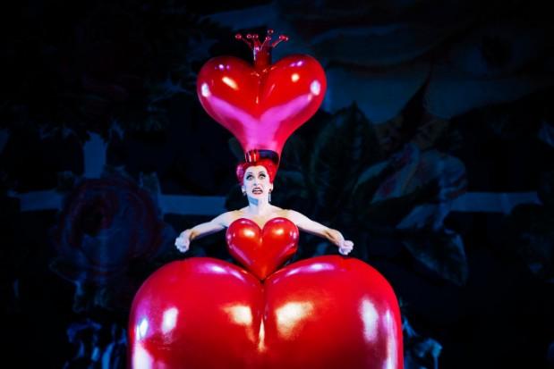 Alice i Underlandet_Kungliga Baletten_Nadja Sellrup som Hjärter Dam lo-res