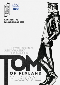 Juliste: Tom of Finland / Sam Sihvonen