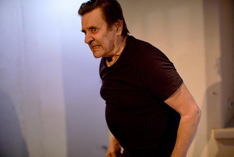 Kuvassa Pekka Laiho. Kuva: Teatteri Jurkka/Marko Mäkinen (2018)